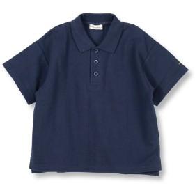 【55%OFF】 ブランシェス 鹿の子ポロシャツ(90~150cm) レディース ネイビーブルー 130cm 【branshes】 【タイムセール開催中】