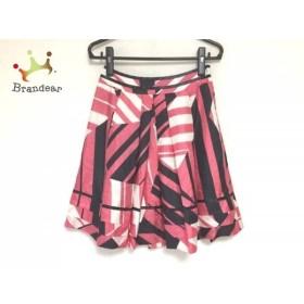 ボディドレッシングデラックス スカート サイズ36 S レディース ピンク×黒×白   スペシャル特価 20190817