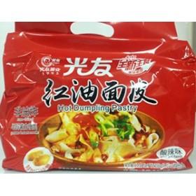 光友紅油面皮(インスタントラーメン)4食入 酸辣味