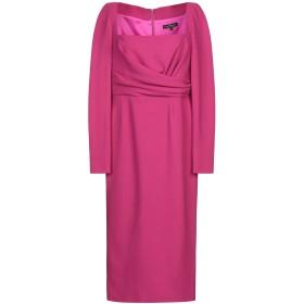 《期間限定 セール開催中》IVAN MONTESI レディース 7分丈ワンピース・ドレス フューシャ 42 ウール 100%