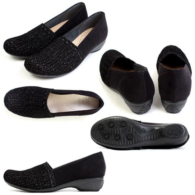 パンプス - PENNE PENNE FREAK [im39772] FIRST CONTACT/ファーストコンタクト 日本製 パンプス 防滑 吸湿 発熱 屈曲性 ラウンドトゥ3cmヒール ラメ カジュアル オフィス コンフォート レディース 靴 39772