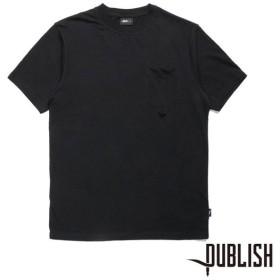 【PUBLISH BRAND/パブリッシュブランド】ERICH カットソー / BLACK