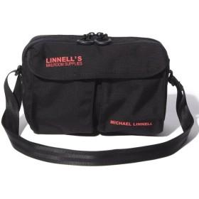マガチャンネル MICHAEL LINNELL(マイケルリンネル)2Pocket Mini Shoulder ユニセックス RED F 【MAGA CHANNEL】