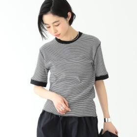 [マルイ] Healthknit × BEAMS BOY / ワッフル ボーダー Tシャツ/ビームス ボーイ(BEAMS BOY)