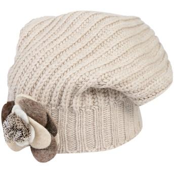 《期間限定セール開催中!》REGINA レディース 帽子 ベージュ M ウール 70% / カシミヤ 30%