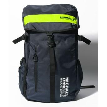 マイケルリンネル MICHAEL LINNELL(マイケルリンネル)Big Backpack ML 008 ユニセックス Navy/Yellow F 【MICHAEL LINNELL】