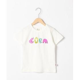 コーエン コーエンベアカラフルロゴTシャツ レディース WHITE 140 【coen】