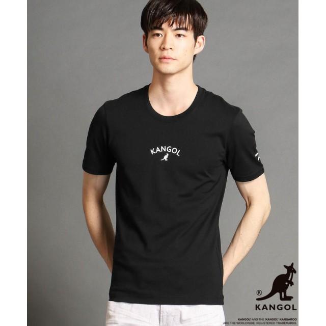 ニコルクラブフォーメン KANGOLコラボラバープリントTシャツ メンズ 49ブラック 44(S) 【NICOLE CLUB FOR MEN】