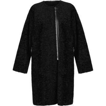 《セール開催中》NORA BARTH レディース コート ブラック 40 アクリル 100%