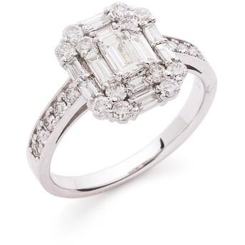 【70%OFF】Pt900 ダイヤモンド1.0ct リング プラチナ 11