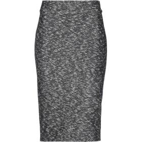 《期間限定 セール開催中》MARELLA レディース 7分丈スカート ブラック 42 ウール 50% / コットン 50%