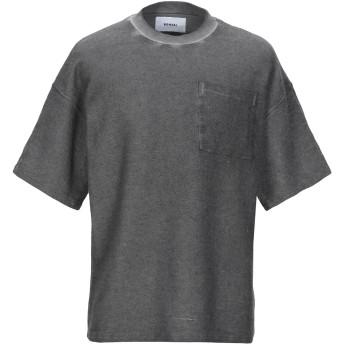 《9/20まで! 限定セール開催中》BONSAI メンズ スウェットシャツ グレー L コットン 90% / ポリエステル 10%