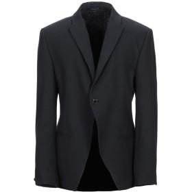 《期間限定セール中》DANIELE ALESSANDRINI メンズ テーラードジャケット ブラック 54 コットン 68% / ポリエステル 20% / 指定外繊維 10% / ポリウレタン 2%