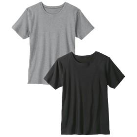 抗菌防臭加工フライス半袖Tシャツ2枚組 Tシャツ・カットソー