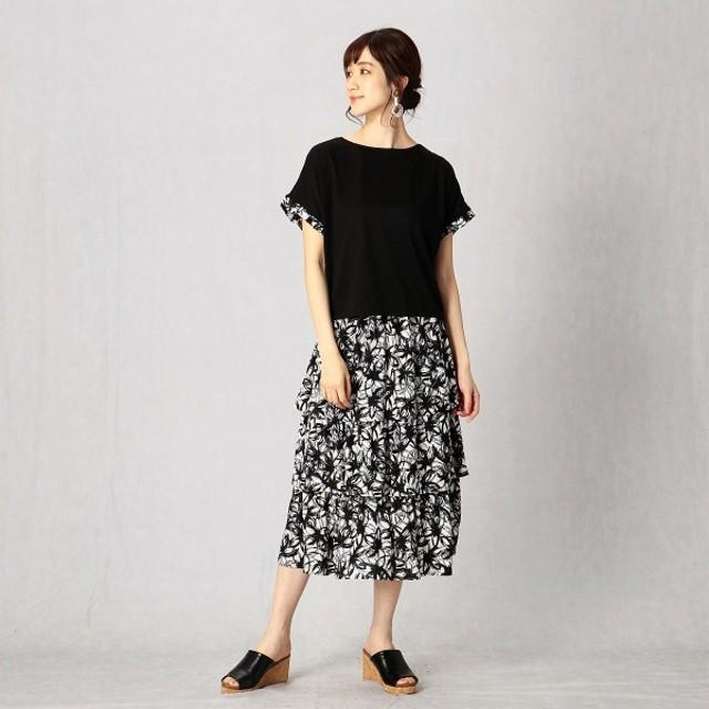 [マルイ]【セール】【 Tシャツ & スカート 】 花柄 コンビネゾン/コムサマチュア(Comme ca Mature)