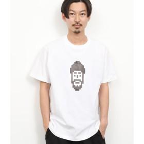アダム エ ロペ ル マガザン/【ユニセックス】/【TOKYOPiXEL×LeMagasin】コラボTシャツ/ホワイト系/L