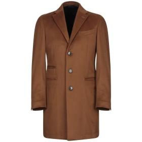 《期間限定セール開催中!》BRANDO メンズ コート キャメル 48 カシミヤ 100%