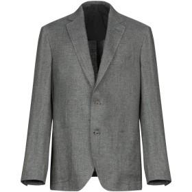 《期間限定セール開催中!》PAL ZILERI メンズ テーラードジャケット グレー 54 麻 60% / ウール 40%