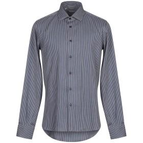 《期間限定セール開催中!》HAVANA & CO. メンズ シャツ ダークブルー 41 コットン 100%