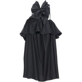 《期間限定セール開催中!》L' AUTRE CHOSE レディース ミニワンピース&ドレス ブラック 40 コットン 95% / ポリウレタン 5%