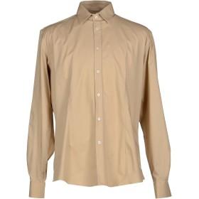 《期間限定セール開催中!》GREY DANIELE ALESSANDRINI メンズ シャツ サンド 40 コットン 97% / ポリウレタン 3%