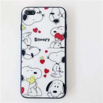 iphoneX登場 アイホンケース スヌーピー iphoneカバー スマホケース 保護用 耐衝撃ケース かわいい携帯カバー アイフォン ソフト