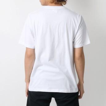 Tシャツ - MARUKAWA ヨッシースタンプ Tシャツ メンズ 夏 キャラクター プリント 半袖 ホワイト/ピンク/イエロー M/L/LL【 ティーシャツヨッシー LINE スタンプ うさぎさん くまさん おもしろ かわいい】