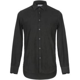 《セール開催中》AGLINI メンズ シャツ スチールグレー 39 コットン 100%