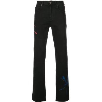 Calvin Klein 205W39nyc タイダイ ジーンズ - ブラック