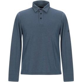 《期間限定 セール開催中》LES COPAINS メンズ ポロシャツ ダークブルー 48 コットン 100%
