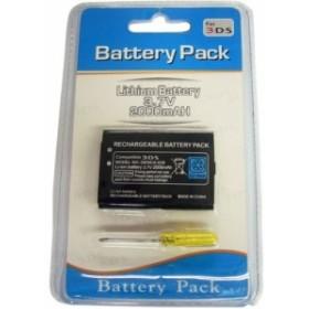 Nintendo ニンテンドー 3DS 交換 電池 バッテリー パック 大容量 2000mAh