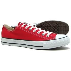 converse - キャンバス オールスター OX M9696 赤/白 32160322 CANVAS ALLSTAR OX red コンバース
