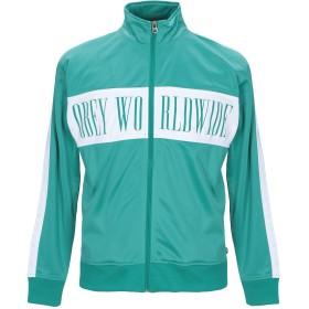 《セール開催中》OBEY メンズ スウェットシャツ ライトグリーン XL ポリエステル 100%