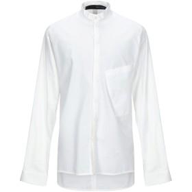 《期間限定セール開催中!》ISABEL BENENATO メンズ シャツ ホワイト 48 コットン 100%