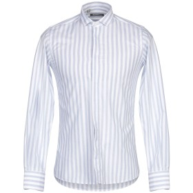 《期間限定セール開催中!》HAVANA & CO. メンズ シャツ ホワイト 39 コットン 100%