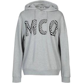 《期間限定セール中》McQ Alexander McQueen メンズ スウェットシャツ ライトグレー XS コットン 100%