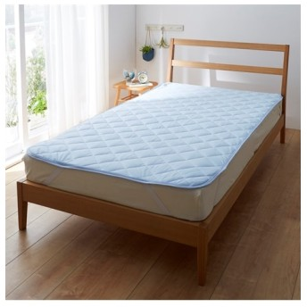 接触冷感(吸汗速乾機能) 敷パッド 敷きパッド・ベッドパッド