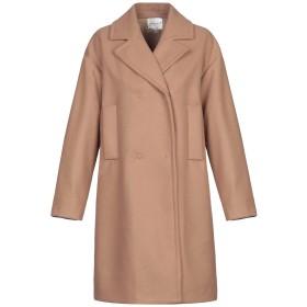 《セール開催中》MICHELA MII レディース コート キャメル 42 ポリエステル 100%