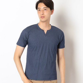[マルイ]【セール】シールズトリコットキーネックTシャツ/メンズメルローズ(MEN'S MELROSE)