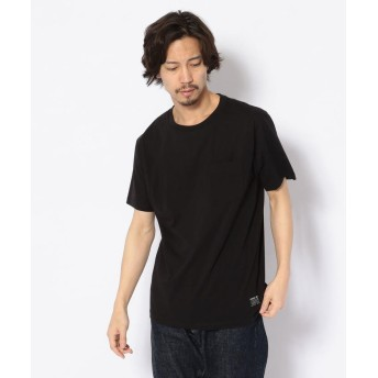 アヴィレックス クルーネック ポケットTシャツ/POCKET T SHIRT メンズ BLACK M 【AVIREX】