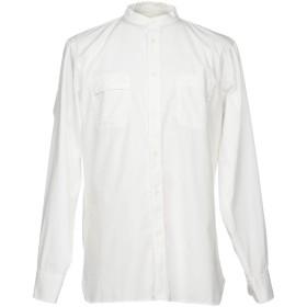 《期間限定セール開催中!》UNIVERSAL WORKS メンズ シャツ ホワイト L コットン 100%