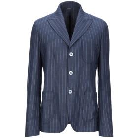 《期間限定セール開催中!》GREY DANIELE ALESSANDRINI メンズ テーラードジャケット ダークブルー 46 レーヨン 45% / ウール 40% / ナイロン 13% / ポリウレタン 2%