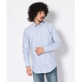 ビーセカンド CREW OX BDシャツ/オックスフォードボタンダウンシャツ メンズ BLUE S 【B'2nd】
