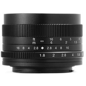 7Artisans 単焦点レンズ 50mm F1.8 5018MB (キヤノンEF-M) 5018MB