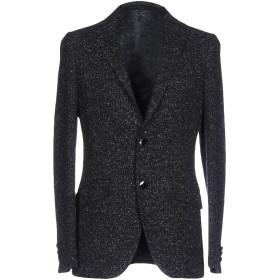 《セール開催中》ETRO メンズ テーラードジャケット ブラック 48 ウール 61% / シルク 20% / コットン 14% / レーヨン 5%