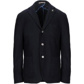 《期間限定 セール開催中》PAOLONI メンズ テーラードジャケット ダークブルー 54 ウール 72% / ナイロン 25% / 指定外繊維 3%