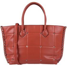 《期間限定 セール開催中》MAURY レディース ハンドバッグ 赤茶色 革
