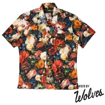 【RAISED BY WOLVES/レイズドバイウルブス】IN BLOOM SHIRT 半袖シャツ / FULL COLOUR