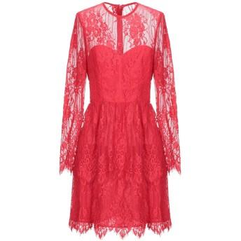 《セール開催中》BY MALINA レディース ミニワンピース&ドレス レッド XS ポリエステル 100%