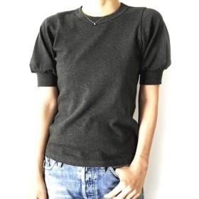 形にこだわった 大人のギャザー袖Tシャツ【サイズ・色展開有り】